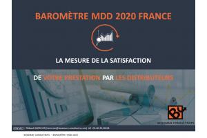 Couverture baromètre MDD 2020